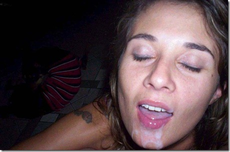 british slut cummed